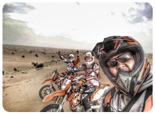 Enduro Dirt bike adventure safari desert tour and rental dubai sharjah