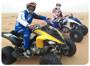 raptor 700 quad bike adventure in dubai